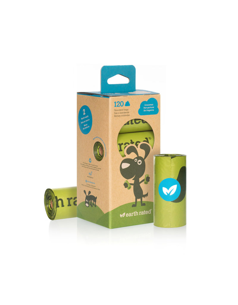 Earth Rated EARTH RATED Unscented Pickup Bags 8 Roll Box