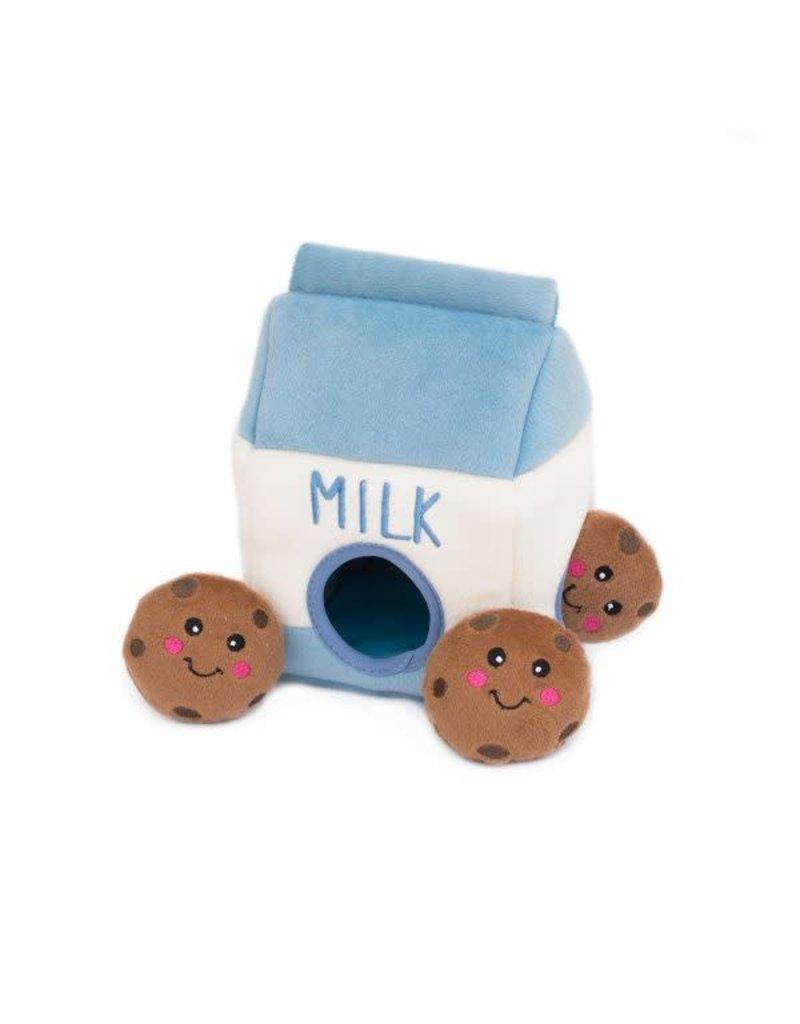 Zippy Paws ZIPPYPAWS Burrow Milk and Cookies