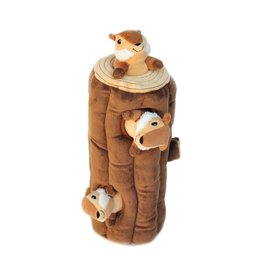 ZIPPYPAWS Burrow Chipmunk Log