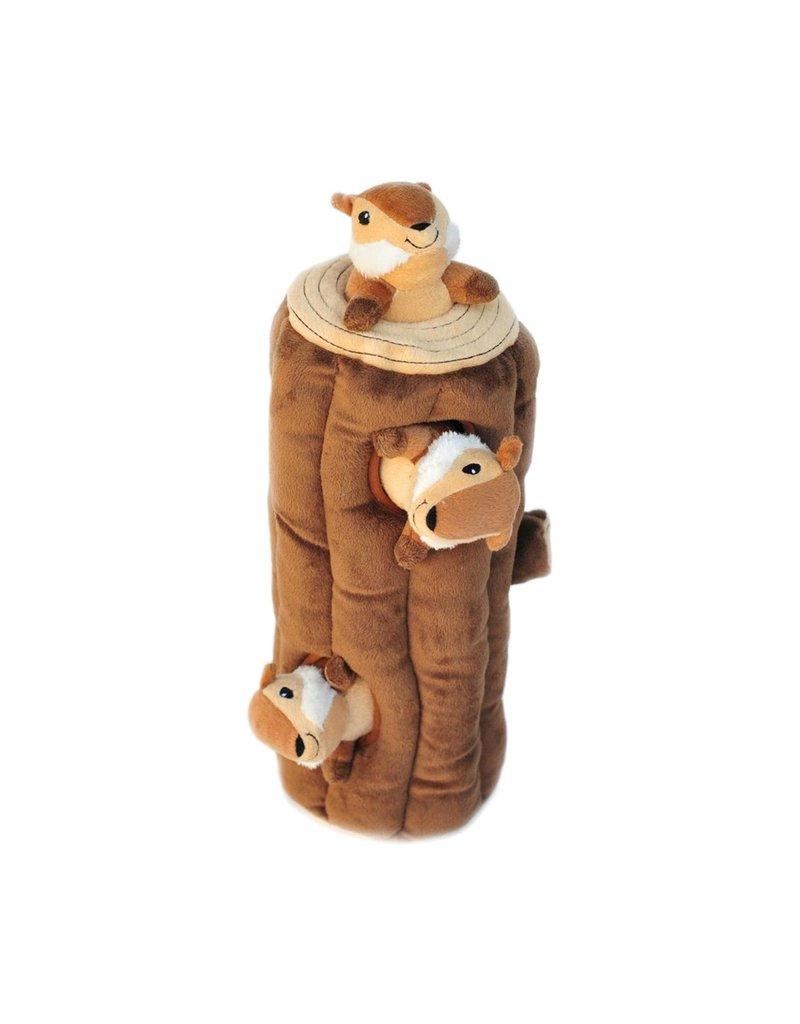 ZIPPYPAWS Burrow Chipmunk Log