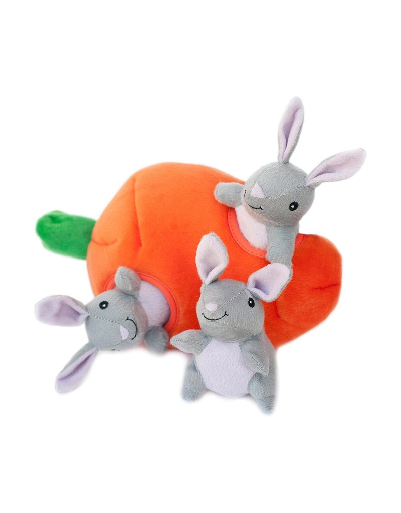 Zippy Paws ZIPPYPAWS Burrow Bunny & Carrot