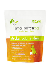 SMALL BATCH SMALL BATCH Frozen Chicken Sliders Cat Food 3lb