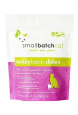 SMALL BATCH SMALL BATCH Frozen Turkey Sliders Cat Food 3lb