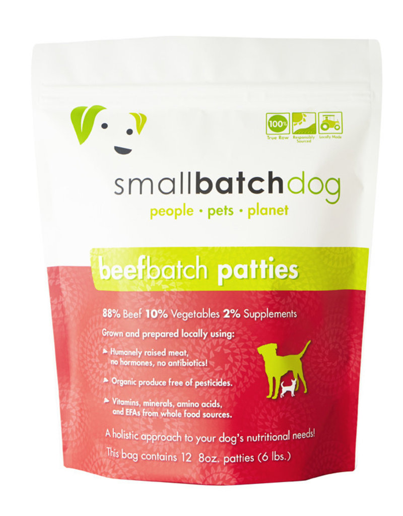 SMALL BATCH SMALL BATCH Frozen Dog Food Beef