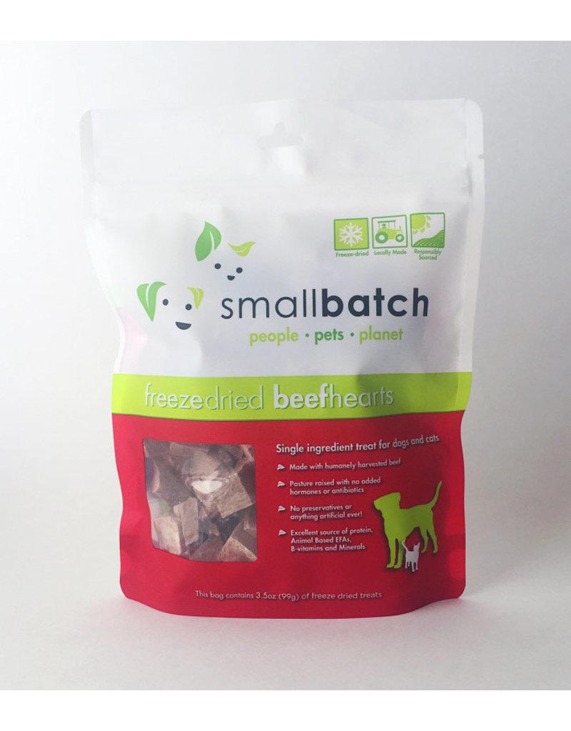 SMALL BATCH SMALL BATCH Freezedried Beef Heart Dog & Cat Treats 3.5 oz.