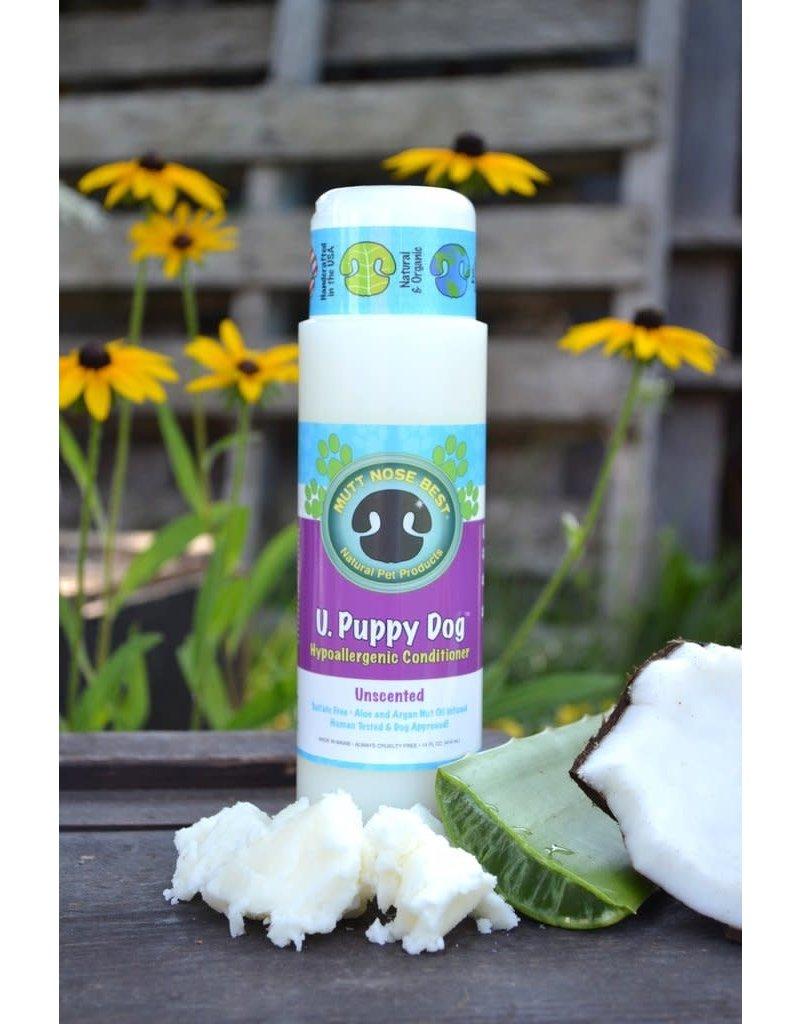 Mutt Nose Best !MUTT NOSE BEST U Puppy Dog Unscented Conditioner 14 oz