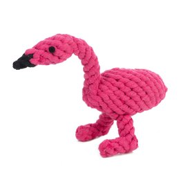 Jax & Bones GOOD KARMA Flamingo Rope Toy