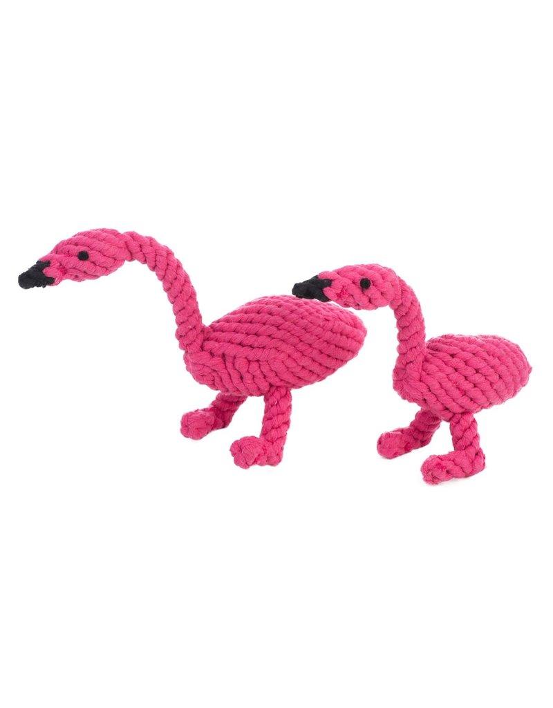 Jax & Bones GOOD KARMA Flamingo Rope Toy