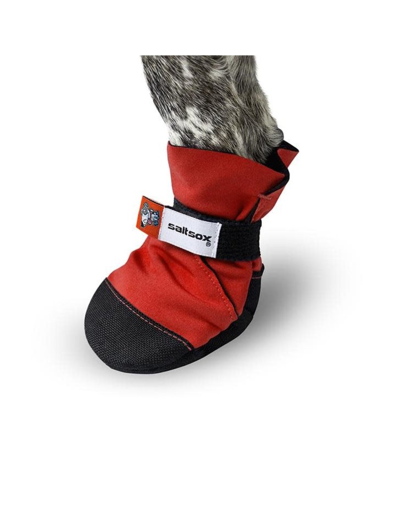 Salt Sox SALT SOX Urban Dog Boot Ice Fire Red