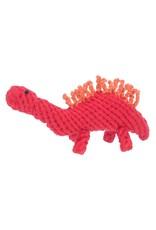 Jax & Bones GOOD KARMA Stegosaurus Rope Toy
