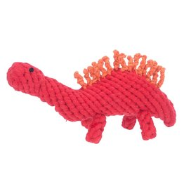 Jax & Bones GOOD KARMA Stegosaurus Rope Toy