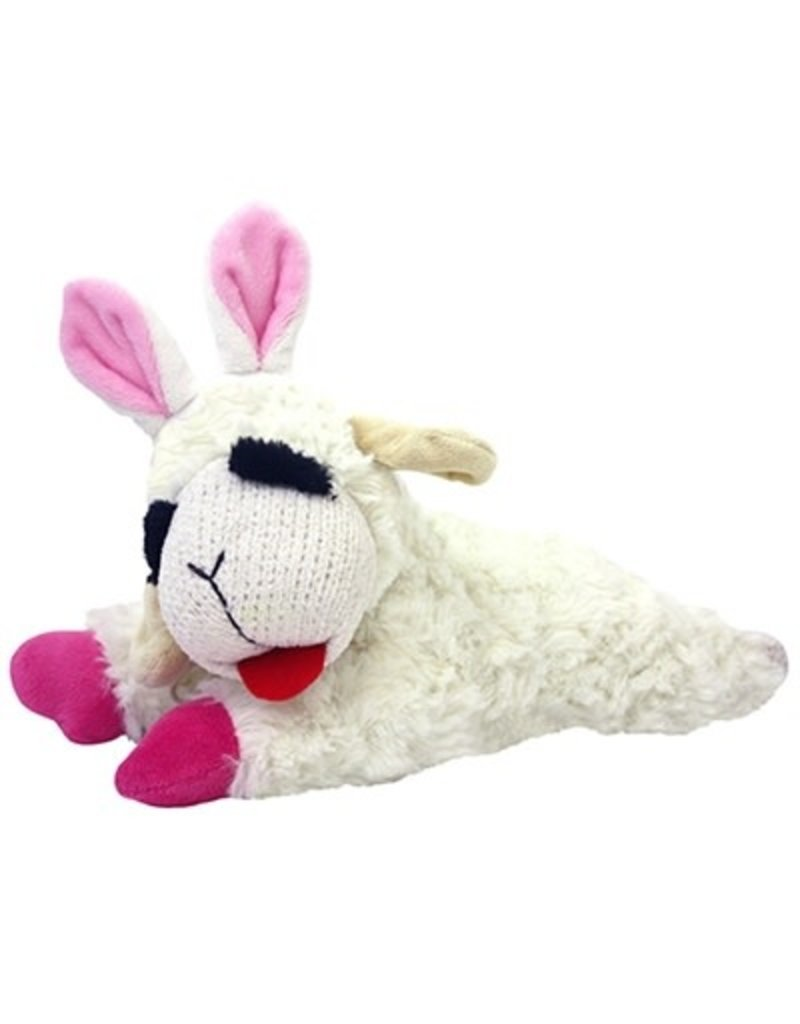 MULTIPET Lamb Chop with Bunny Ears Squeaky Plush Toy