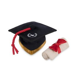 P.L.A.Y. P.L.A.Y. Back to School Grad Cap & Scroll