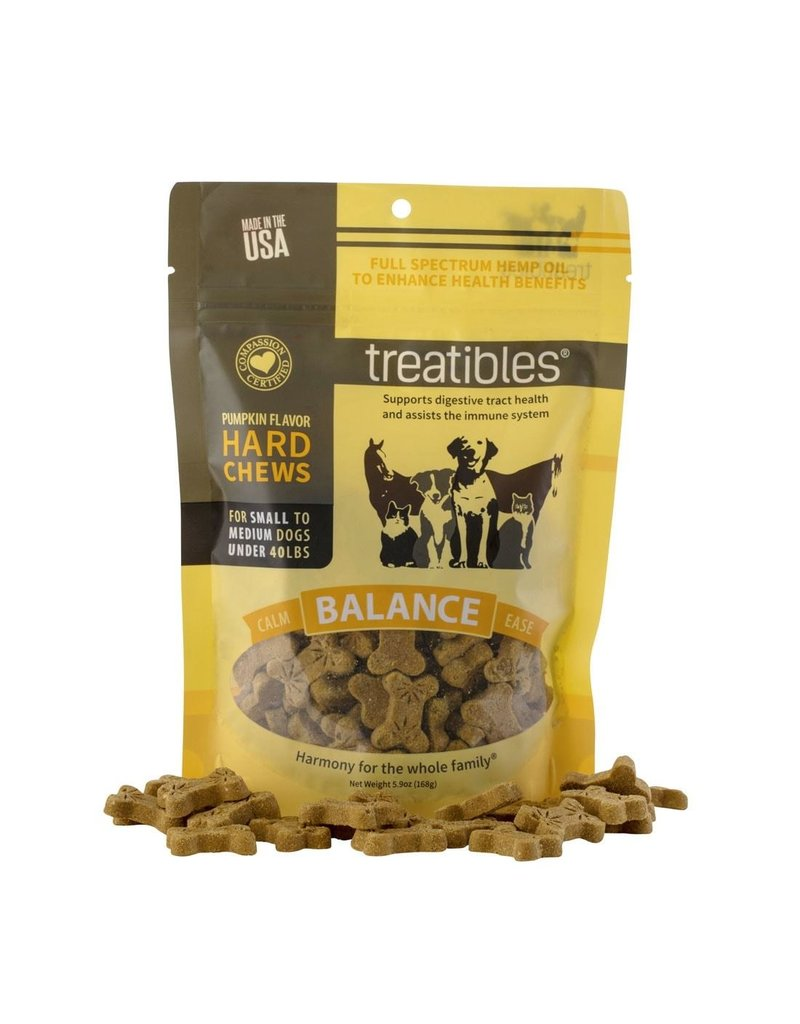 TREATIBLES TREATIBLES Grain-Free Hard Chew for Dogs Pumpkin