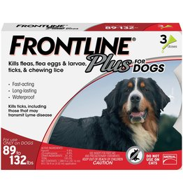 FRONTLINE FRONTLINE PLUS for Dogs 89-132lb 3pk