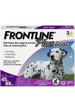 FRONTLINE FRONTLINE PLUS for Dogs 45-88lb 3pk