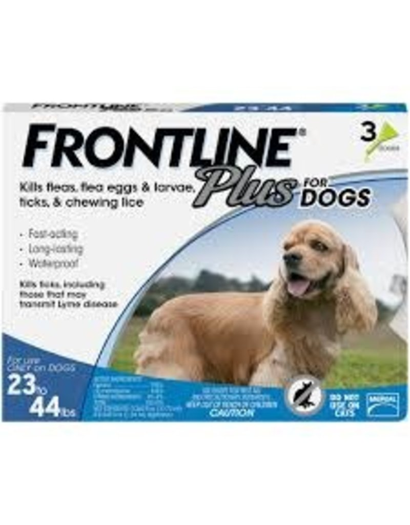 FRONTLINE FRONTLINE PLUS for Dogs 23-44lb 3pk