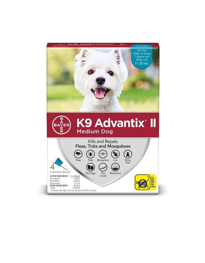 Bayer K9 ADVANTIX II Teal 11-20lb