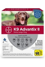 Bayer !K9 ADVANTIX II Blue 55+lb
