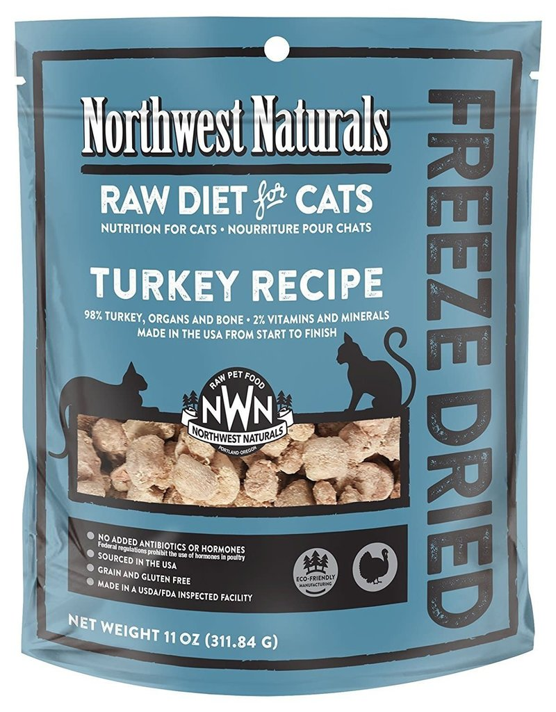 Northwest Naturals NORTHWEST NATURALS Turkey Freezedried Cat Food