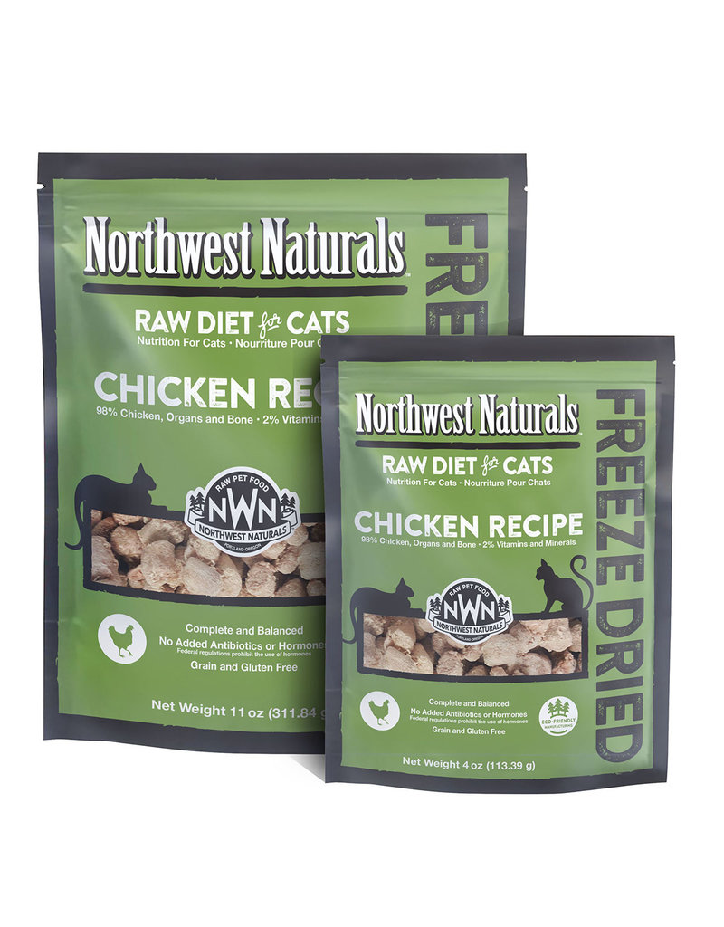 Northwest Naturals NORTHWEST NATURALS Chicken Freezedried Cat Food