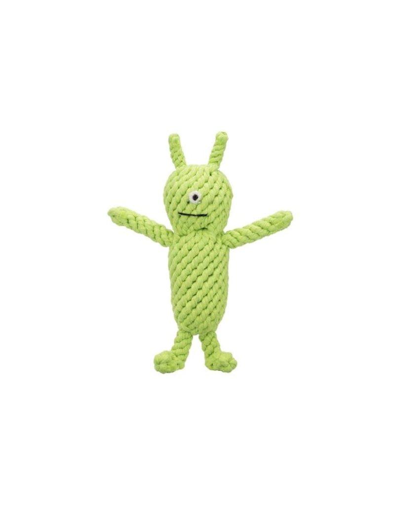 Jax & Bones GOOD KARMA Norman the Alien Rope Toy