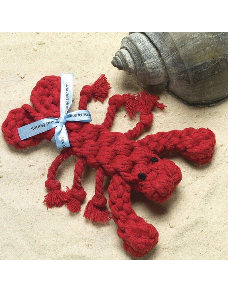 Jax & Bones GOOD KARMA Lobster Rope Toy