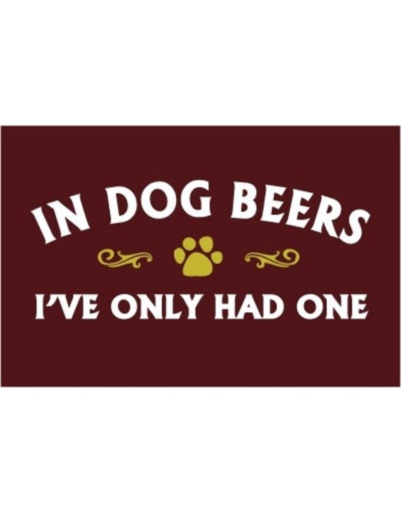 SPOILED ROTTEN DOGZ In Dog Beers Hat