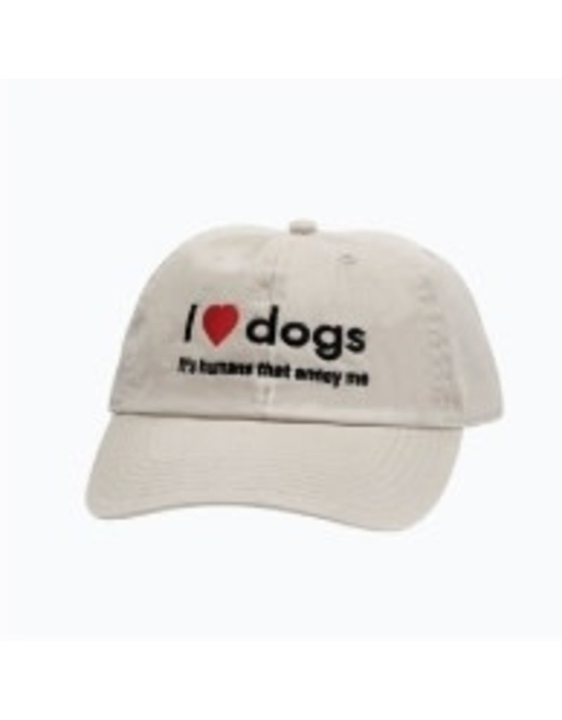 SPOILED ROTTEN DOGZ I Love Dogs Hat