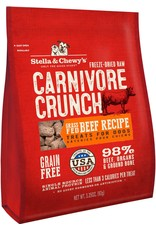 Stella & Chewys STELLA & CHEWY'S Beef Recipe Carnivore Crunch Dog & Cat Treats 3.25 oz.