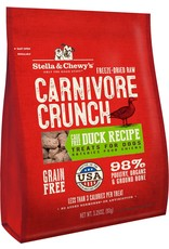 Stella & Chewy's STELLA & CHEWY'S Duck Recipe Carnivore Crunch Dog & Cat Treats 3.25 oz.