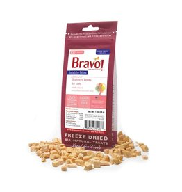BRAVO! Pet Food BRAVO! Freezedried Salmon Cat Treat 1oz