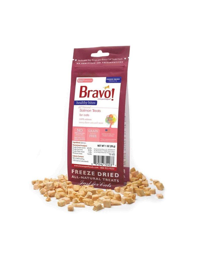 BRAVO! Pet Food BRAVO! Freezedried Salmon Cat Treat 1oz