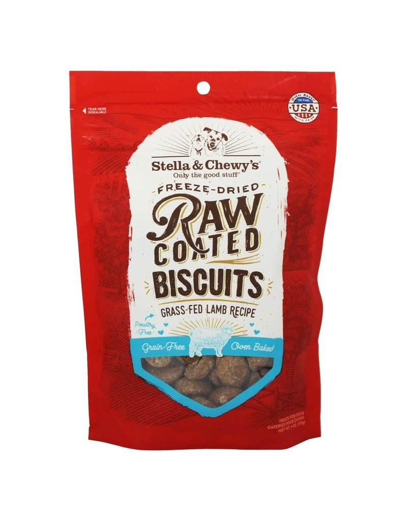 Stella & Chewys STELLA & CHEWY'S Raw Coated Biscuits Lamb