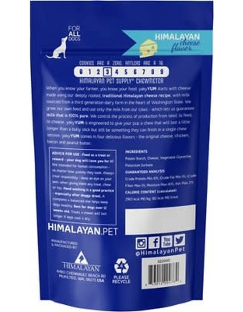 Himalayan Dog Chew HIMALAYAN Yaky Yum Cheese Dog Chew 6.5 oz.