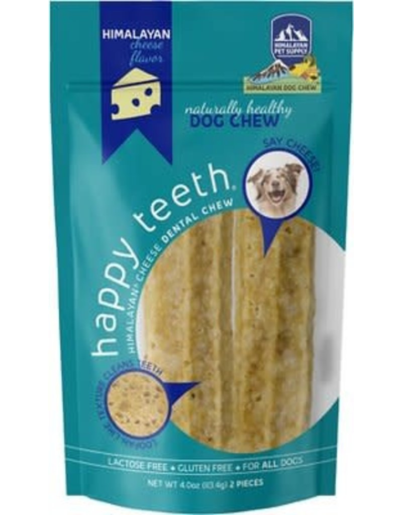 Himalayan Dog Chew HIMALAYAN Happy Teeth Cheese Dog Chew