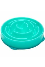 OUTWARD HOUND OUTWARD HOUND Fun Feeder Slo-Bowl - Teal