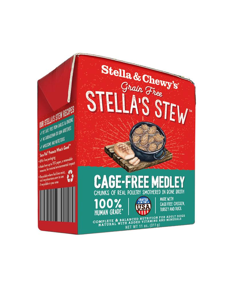 Stella & Chewys STELLA & CHEWY'S Dog Stew Cage Free Medley 11oz CASE/12