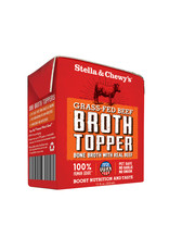 Stella & Chewy's STELLA & CHEWY'S Beef Broth Topper 11oz CASE/12