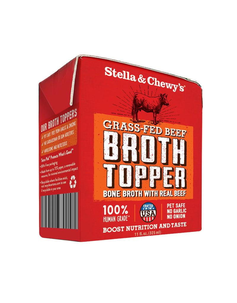 Stella & Chewys STELLA & CHEWY'S Beef Broth Topper 11oz CASE/12