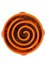 OUTWARD HOUND OUTWARD HOUND Fun Feeder Slo-Bowl - Orange