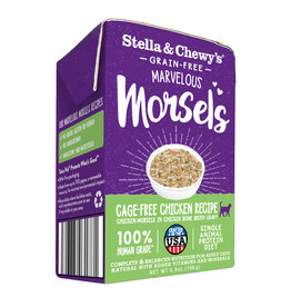 Stella & Chewys STELLA & CHEWY'S Marvelous Morsels Chicken Recipe for Cats 5.5oz CASE/12