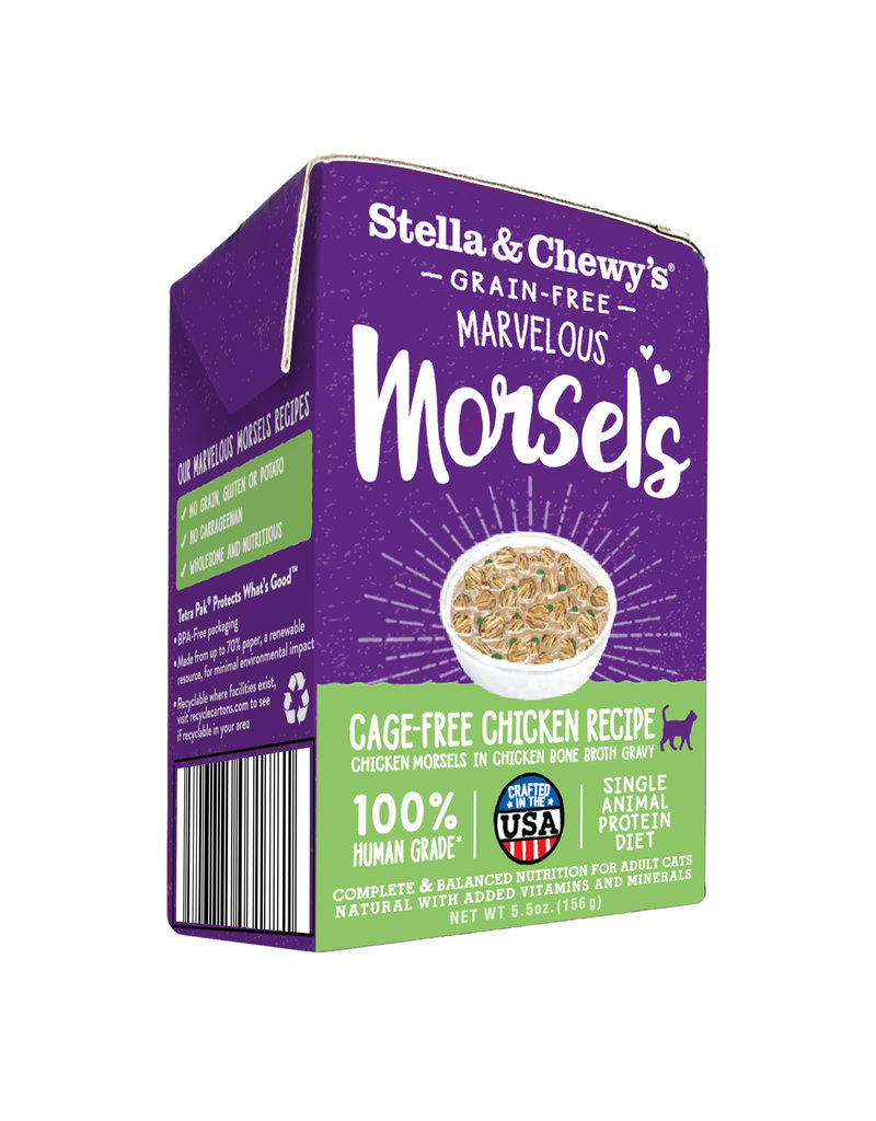 Stella & Chewy's STELLA & CHEWY'S Marvelous Morsels Chicken Recipe for Cats 3.5oz CASE/12