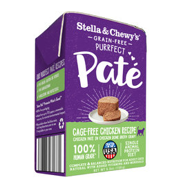 Stella & Chewy's STELLA & CHEWY'S Purrfect Pate Chicken Recipe for Cats 3.5oz CASE/12