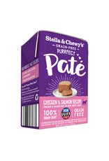 Stella & Chewy's STELLA & CHEWY'S Purrfect Pate Chicken & Salmon Medley for Cats 3.5 oz CASE/12