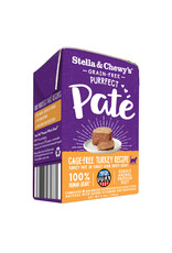 Stella & Chewys STELLA & CHEWY'S Purrfect Pate Turkey Recipe for Cats 5.5oz CASE/12