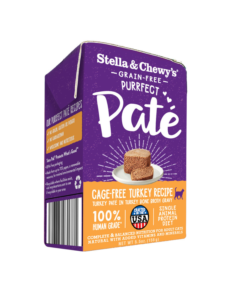 Stella & Chewy's STELLA & CHEWY'S Purrfect Pate Turkey Recipe for Cats 3.5oz CASE/12