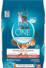 Nestle PURINA ONE Salmon & Rice Dry Cat Food 16lb.