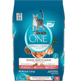 PURINA PURINA ONE Salmon & Rice Dry Cat Food 16lb.