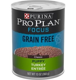 Nestle PURINA PRO PLAN Focus Turkey and Rice Canned Puppy Food  Case 12/13oz